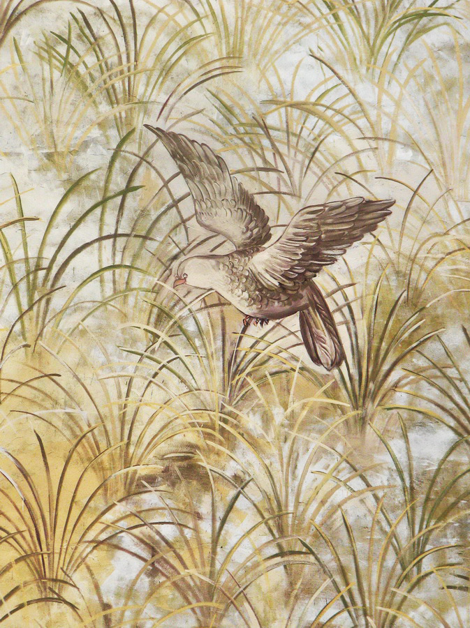 Mural «Birds in a Meadow»