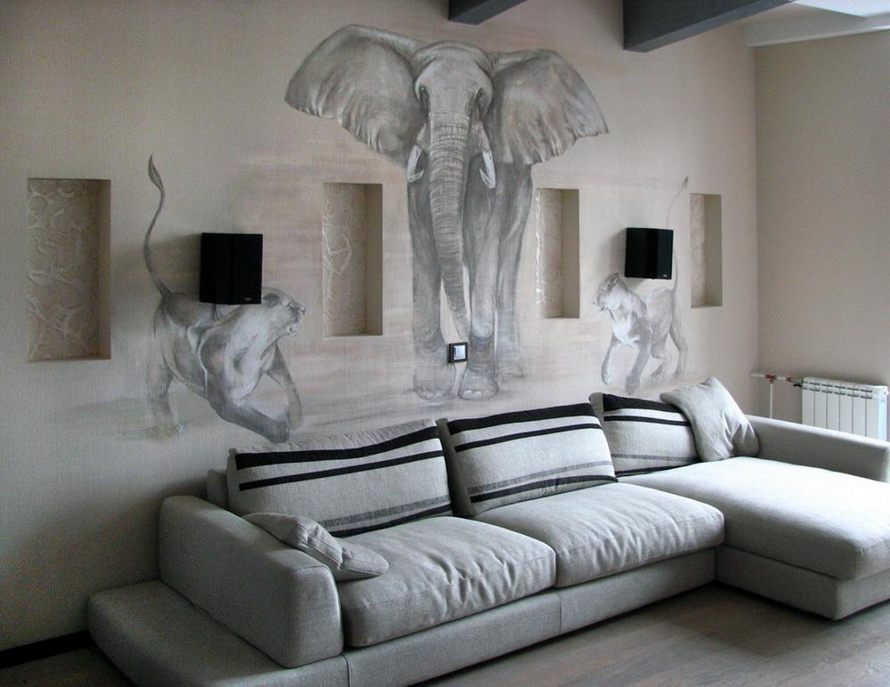 Lions_Elefant_Painting_8
