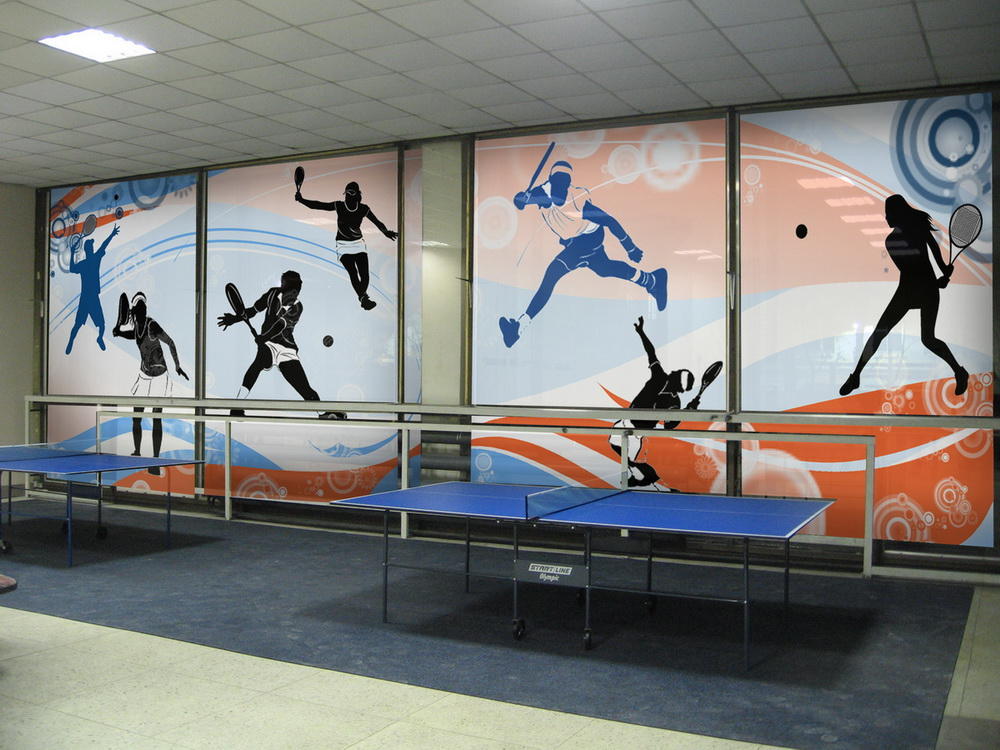 Sports Wall Murals unrealized interior wall mural projects - denver custom wall murals