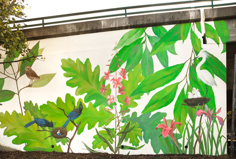 Yulia_Avgustinovich_Muralist_Bay_Area_hand_painted_wall_murals_Outdoor  Wall_art Part 95