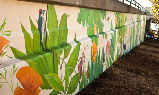 Outdoor wall art by Avgustinovich Yulia