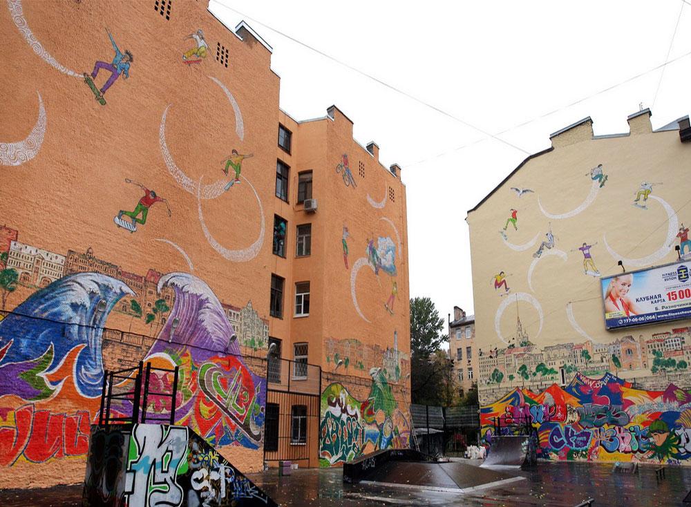 Skatepark Mural.
