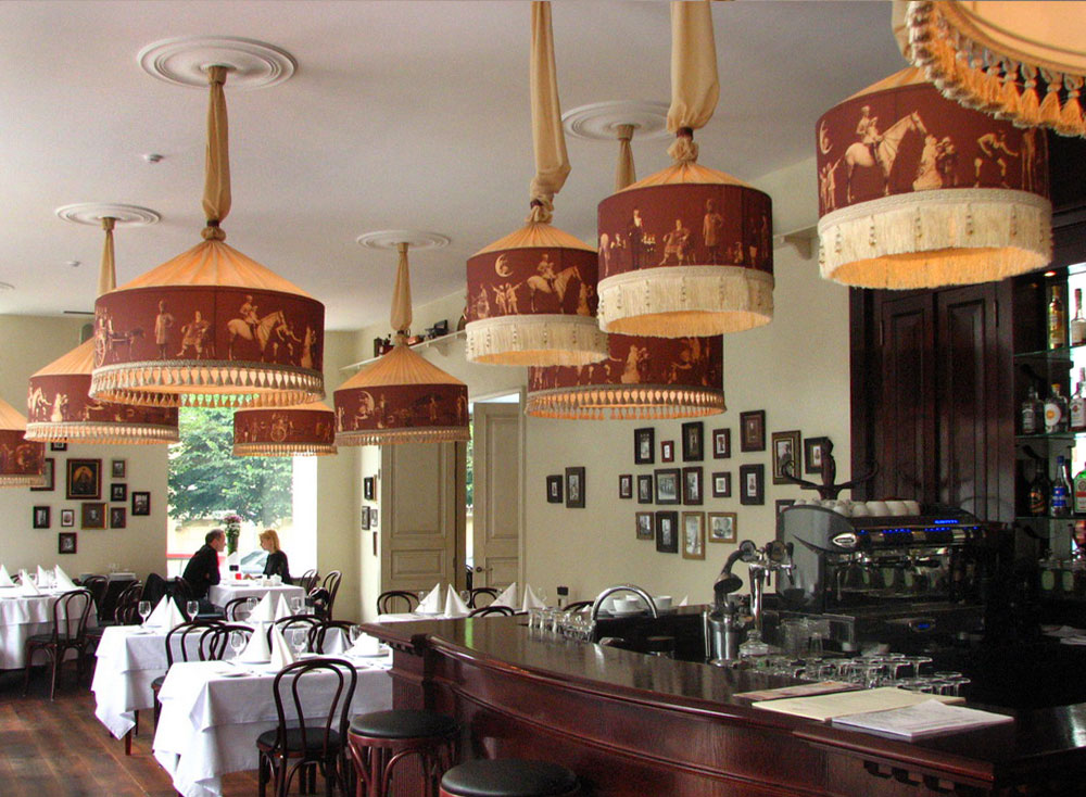 Handmade Lamp Shades for Restaurants