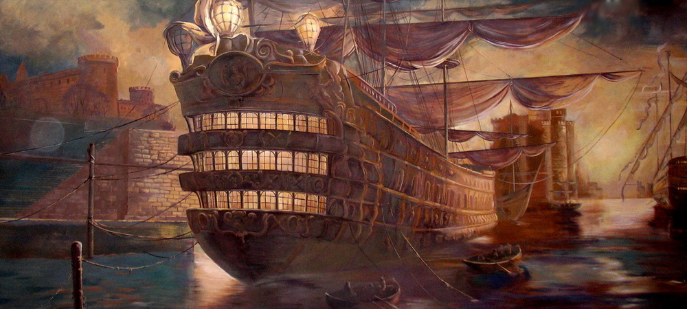 Interior_wall_decoration_restaurant_Design_Yulia_Avgustinovich_artist_LA_Bay_Area_hand_painted_wall_murals, Decorative Painting_Muralist