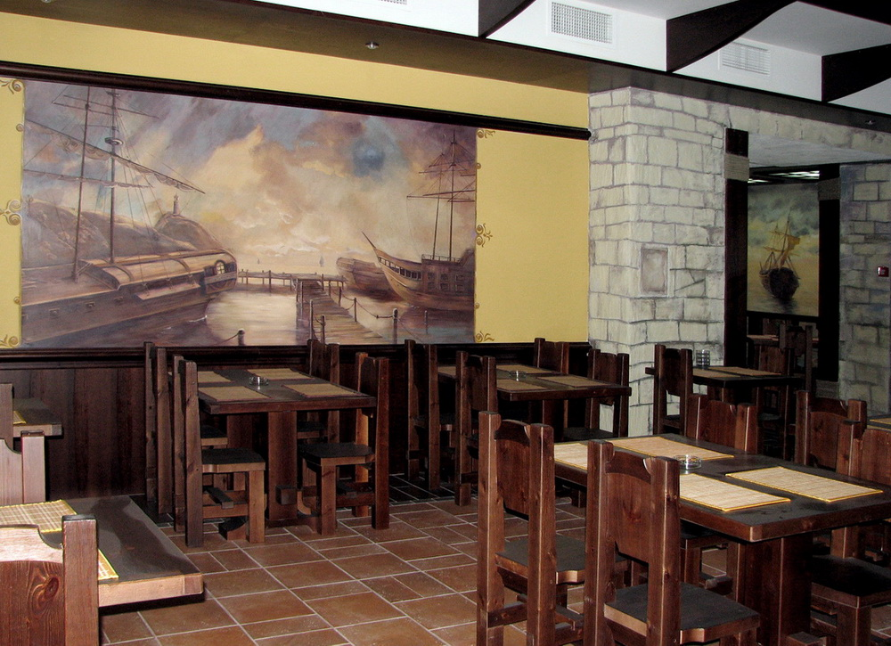 ideas for interior wall decoration in the designing of interior wall murals in a restaurant denver custom wall
