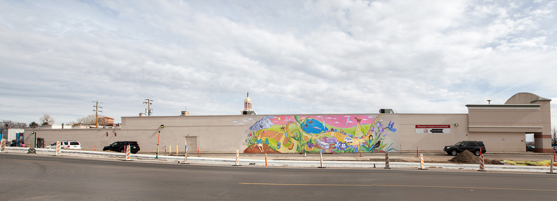 A sketch for the West Colfax Mural Fest