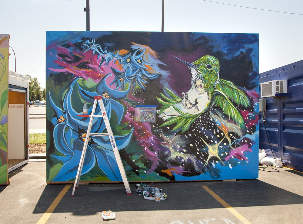 West Colfax Mural Fest, Caitlyn Shea