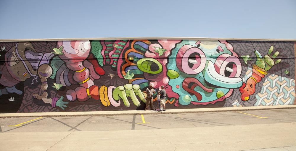 West Colfax Mural Fest, Michael Birdcap Roy