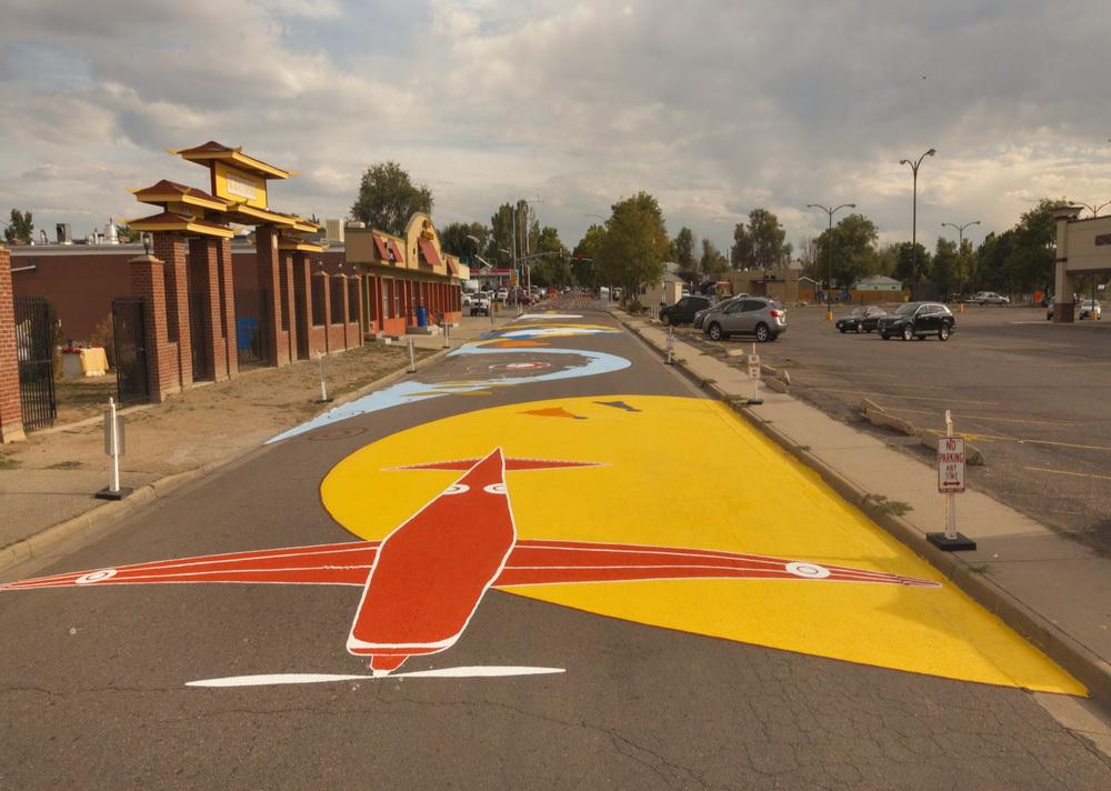 Yulia_Avgustinovich_Aurora_Street_mural_Stanley_Market_Place_Denver_Colorado