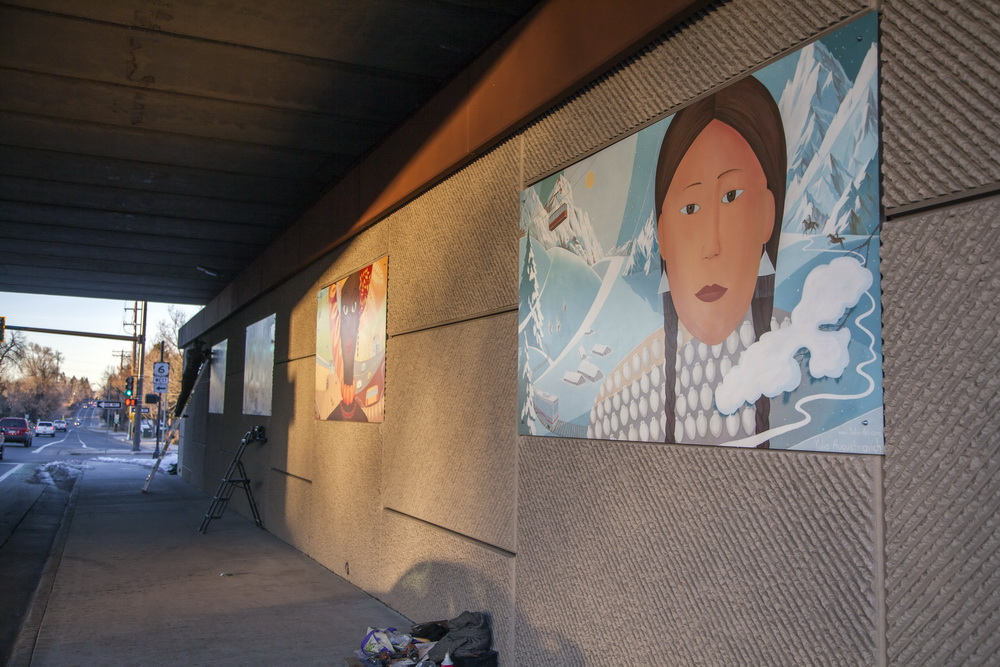 Lakewood_Underpass_Wall_Mural_Garrison_Street_Yulia_Avgustinovich_Denver_Muralist_Four_Graces_Seasons_40