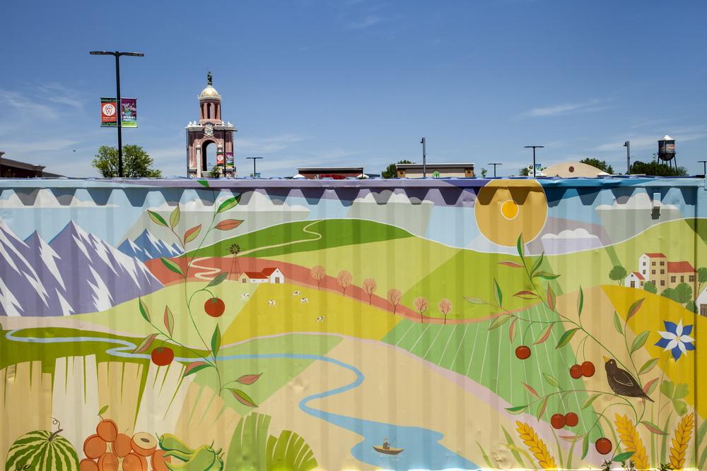 Farmers_Market_Mural_West Colfax_ Lakewood_Yulia_Avgustinovich_Denver_Muralist