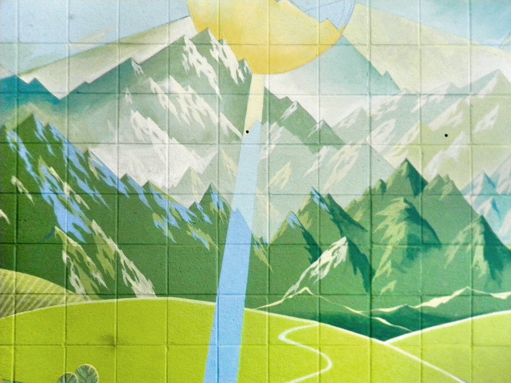 Interior Mural For The Swimming Pool The Creation Of Creation