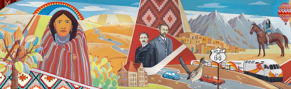 Unm Mural Design In Albuquerque Nm Unrealized Mural Project