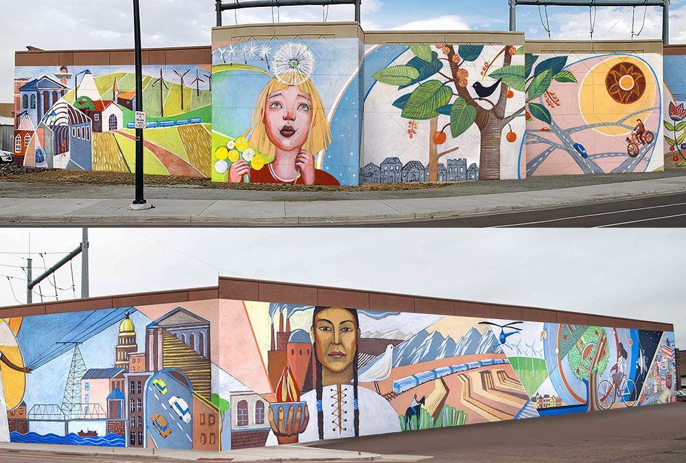 Design for Alameda Light rail Station Mural Project