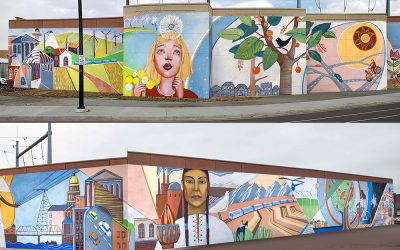 Design for Alameda Light rail Station Mural Project