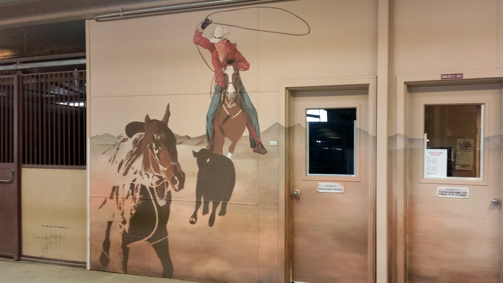 Equine Art Mural Project For Csu In Fort Collins Co