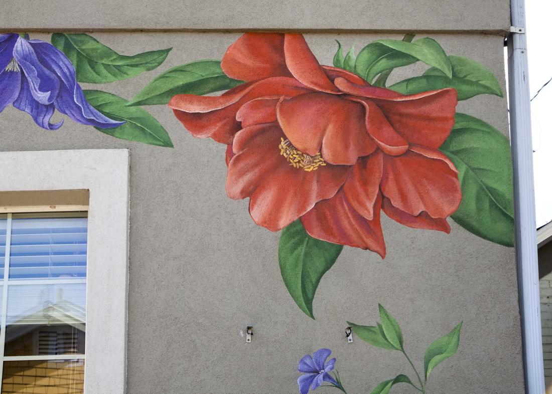 Flower_Wall_Art_Paradise_Wall_Mural_RINO_Exterior_wall_art_Yulia_Avgustinovich_Denver_Muralist