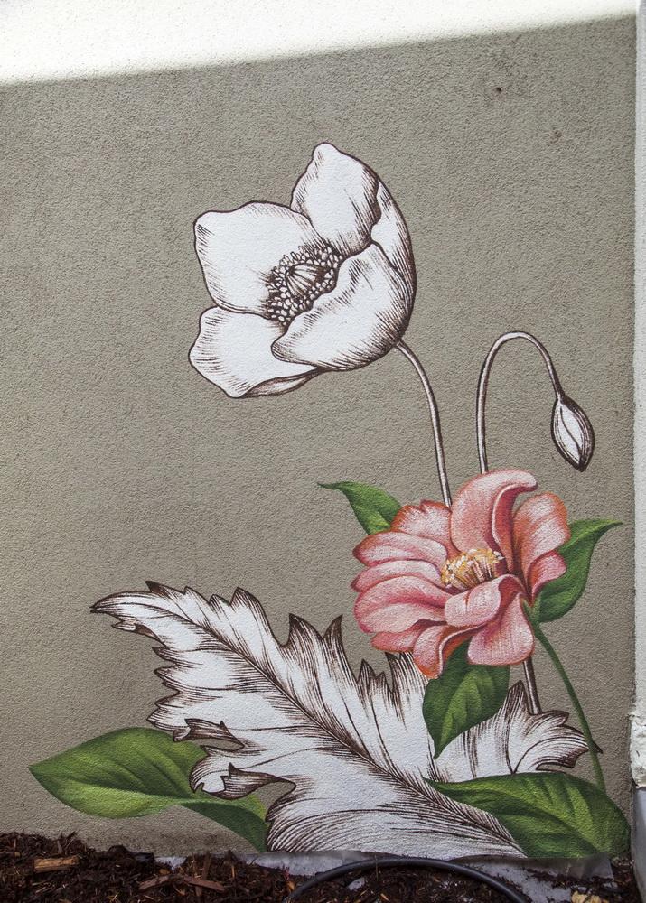 Flower_Wall_Art_Paradise_Wall_Mural_RINO_Exterior_wall_art_Yulia_Avgustinovich_Denver_Muralist_Poppies