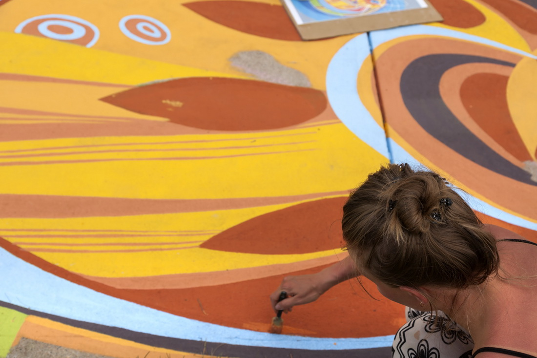 Project_Lakewood_40_Artline_Ground_Mural_Yulia_Avgustinovich_Denver_Muralist