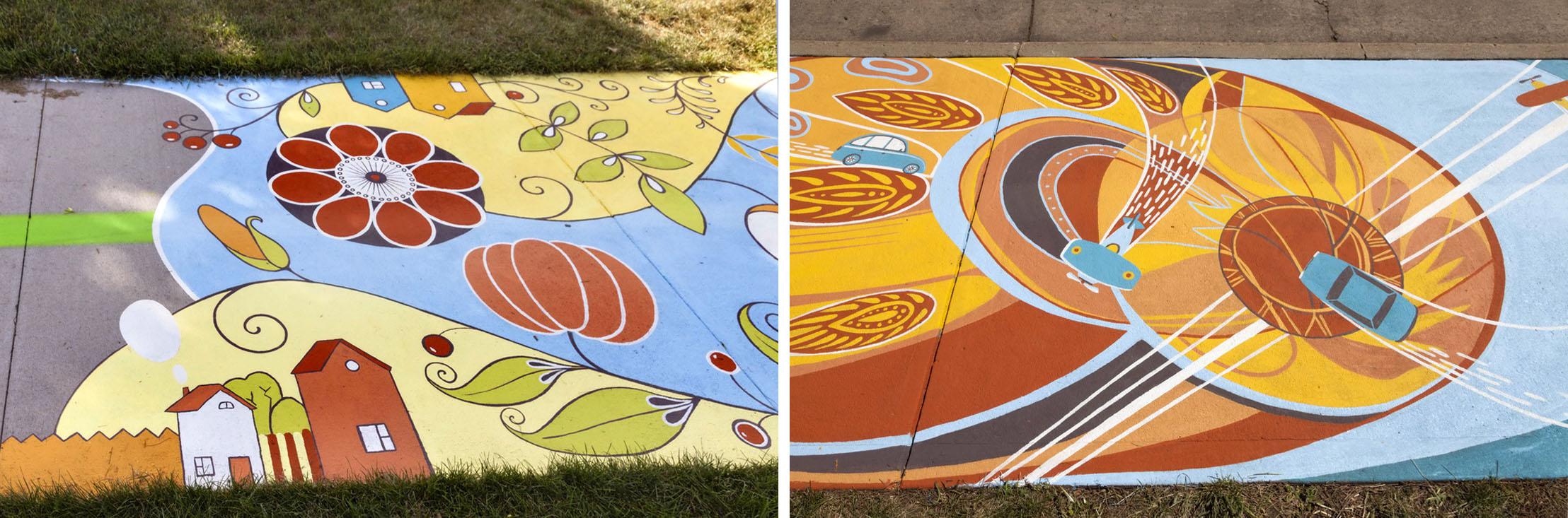 ground mural