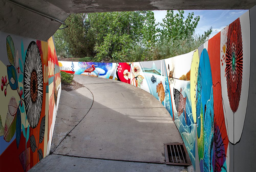 Tunnel Art My New Project In Longmont Co Is Comming Soon