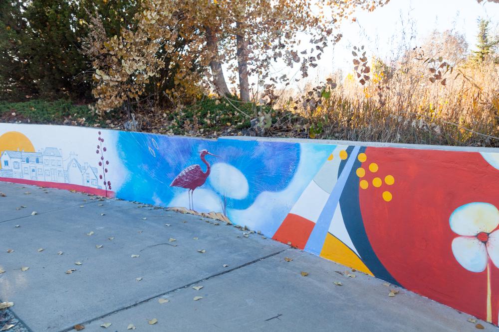 Underpass_Tunnel_Mural_Painting_Longmont_Colorado_Art_Yulia_Avgustinovich_Denver_Muralist