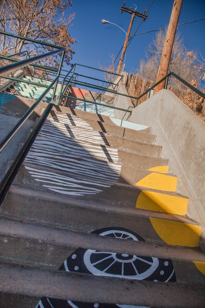 Staircase_Artwork_Oneida_Denver_Mural_Colorado_Art_Yulia_Avgustinovich_Muralist