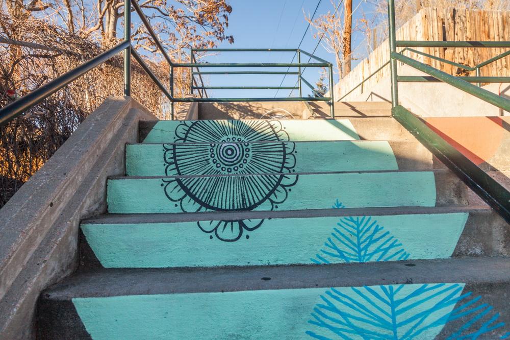 Staircase_Artwork_Oneida_Denver_Mural_Colorado_Art_Yulia_Avgustinovich_Muralist-