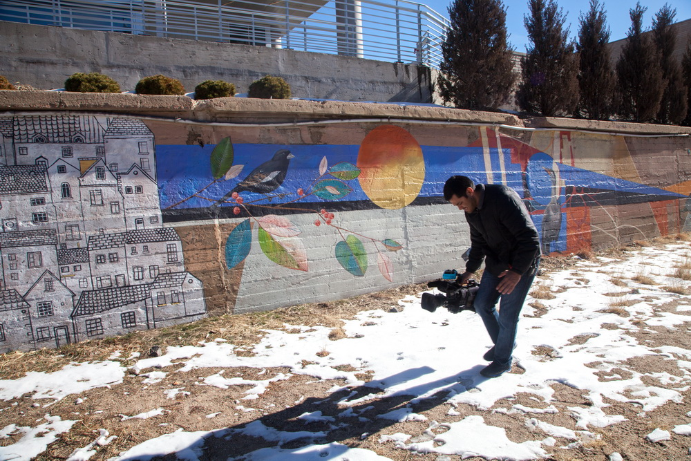 Cherry Creek Mural Creation