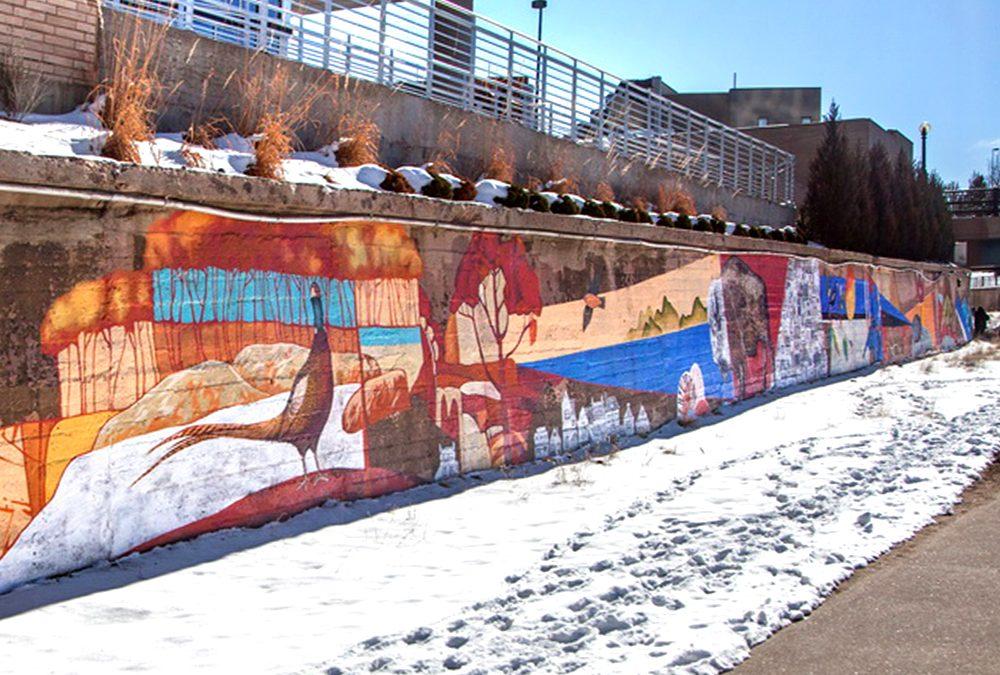 Denver Urban Arts Fund Mural at the Cherry Creek Trail