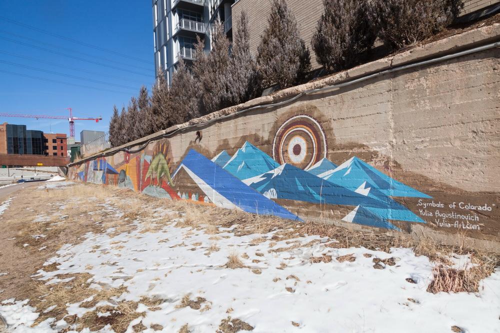 Denver Urban Arts Fund Mural Yulia Avgustinovich Denver_Muralist Colorado American Artist
