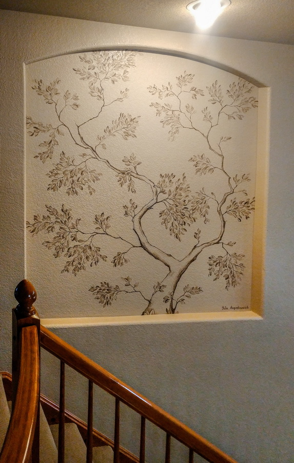 Interior_Decor_Tree_Mural_Yulia_Avgustinovich_Denver_Muralist_Colorado_Artist