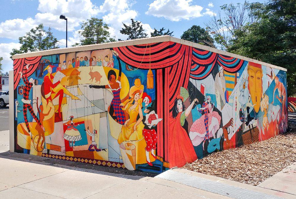 Aurora Fox Art Center Mural